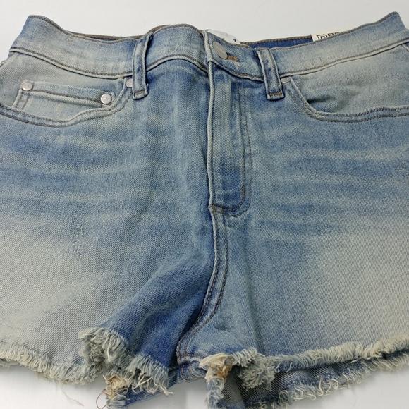 PINK Victoria's Secret Pants - NWT Pink High Waist Cut Off Shorts Size 8